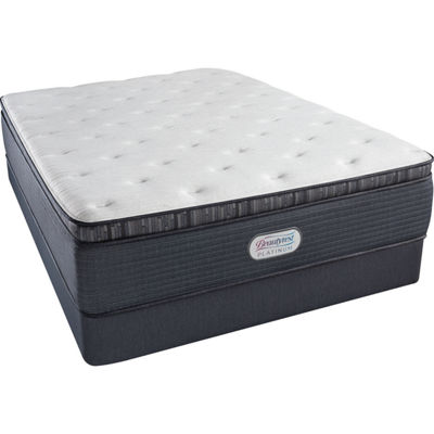 Simmons® Beautyrest® Platinum® Chambers Bridge Plush Pillow-Top - Mattress + Box Spring