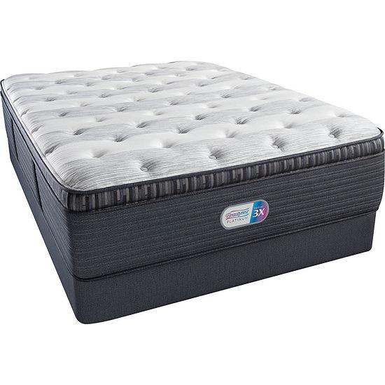 Beautyrest® Platinum® Fullerton Luxury Firm Pillow-Top - Mattress + Box Spring