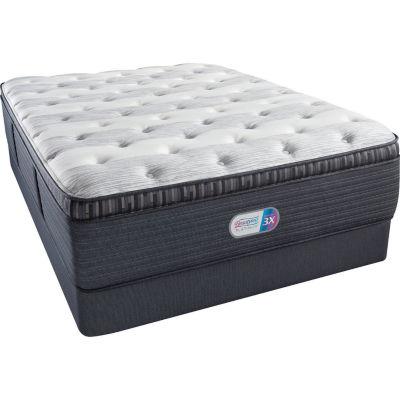 Simmons® Beautyrest® Platinum® Fullerton Plush Pillow-Top - Mattress + Box Spring