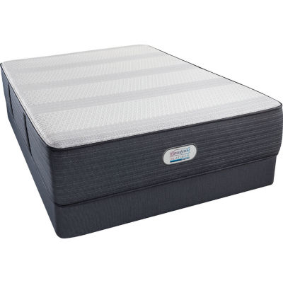 Simmons® Beautyrest® Platinum® Ansley Plush Tight-Top Hybrid - Mattress + Box Spring
