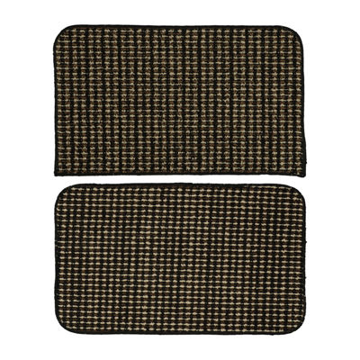 Garland Rug Set of 2 Berber Coloriations Rectangular Accent Rugs