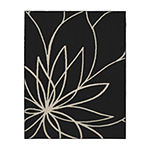 Garland Rug Grand Floral Rectangular Area Rug