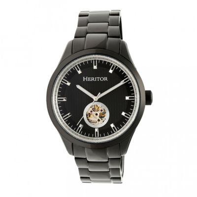 Heritor Unisex Black Bracelet Watch-Herhr7003
