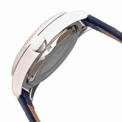 Heritor Unisex Blue Strap Watch-Herhr7102