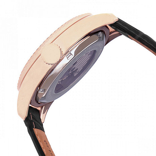Heritor Unisex Black Strap Watch Herhr7106