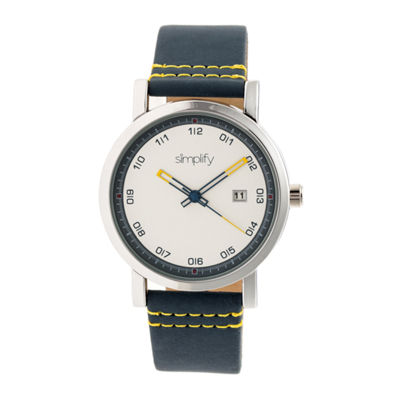 Simplify Unisex Blue Strap Watch-Sim5301