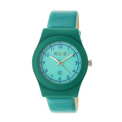 Crayo Unisex Blue Strap Watch-Cracr4102