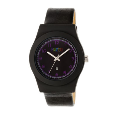 Crayo Unisex Black Strap Watch-Cracr4101