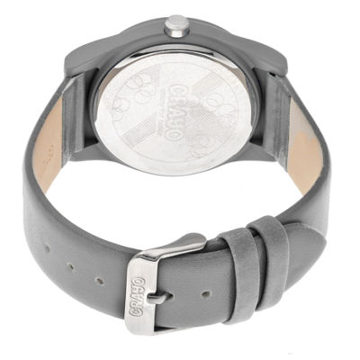 Crayo Unisex Gray Strap Watch-Cracr4105