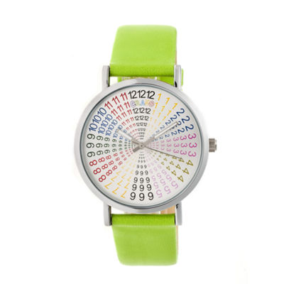 Crayo Unisex Green Strap Watch-Cracr4301