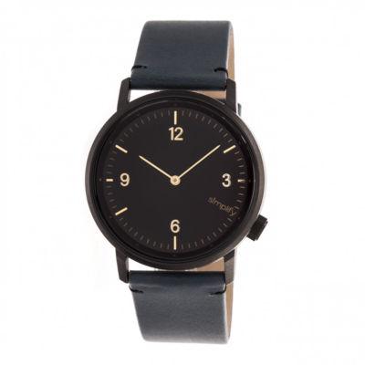 Simplify Unisex Blue Strap Watch-Sim5504