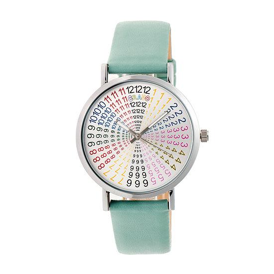 Crayo Unisex Blue Strap Watch-Cracr4303