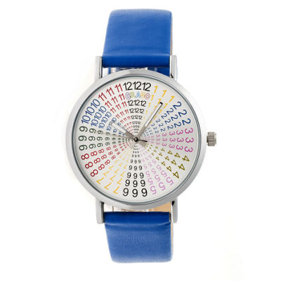 Crayo Unisex Blue Strap Watch-Cracr4302