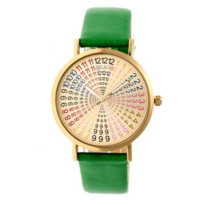 Crayo Unisex Green Strap Watch-Cracr4304