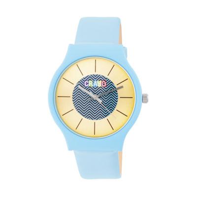 Crayo Unisex Blue Strap Watch-Cracr4405