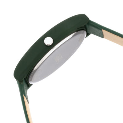 Crayo Unisex Green Strap Watch-Cracr4404