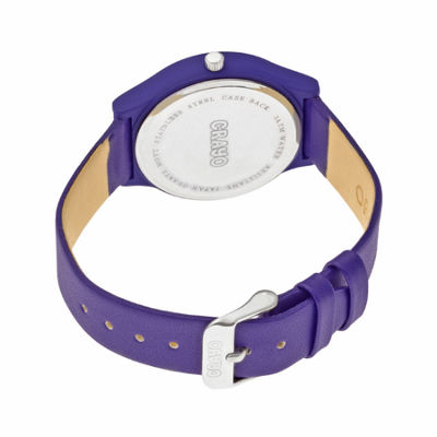 Crayo Unisex Purple Strap Watch-Cracr4407