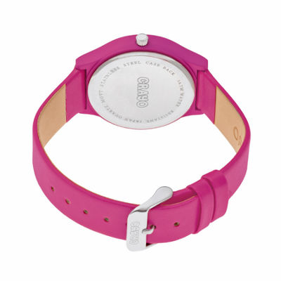 Crayo Unisex Pink Strap Watch-Cracr4406