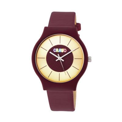 Crayo Unisex Strap Watch-Cracr4408