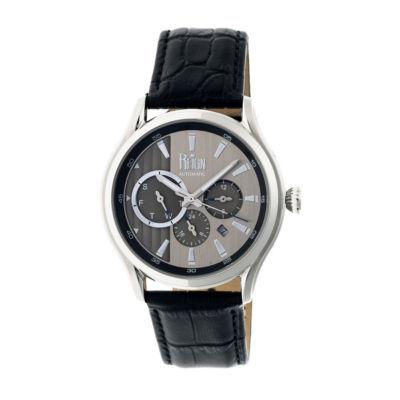 Reign Unisex Black Strap Watch-Reirn1501