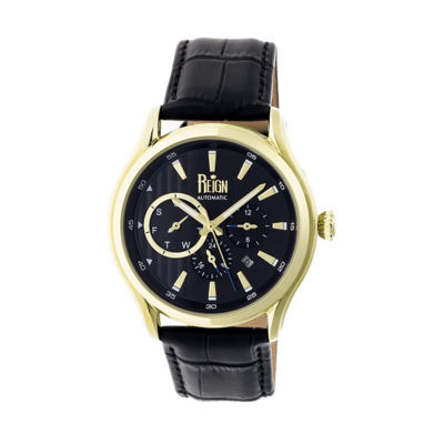 Reign Unisex Black Strap Watch-Reirn1503