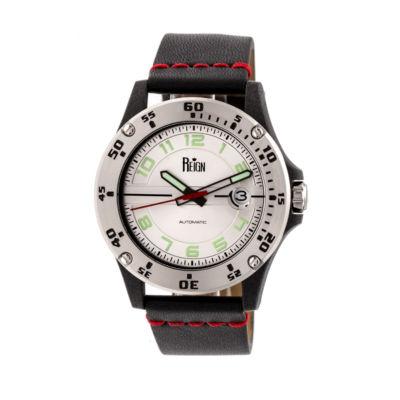 Reign Unisex Black Strap Watch-Reirn5001