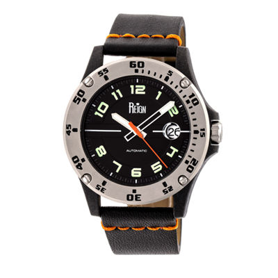 Reign Unisex Black Strap Watch-Reirn5002