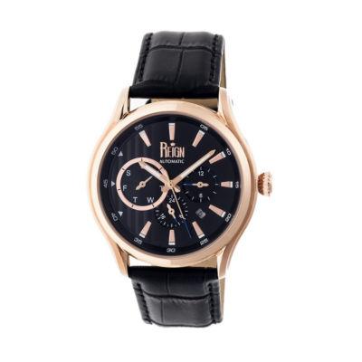 Reign Unisex Black Strap Watch-Reirn1505