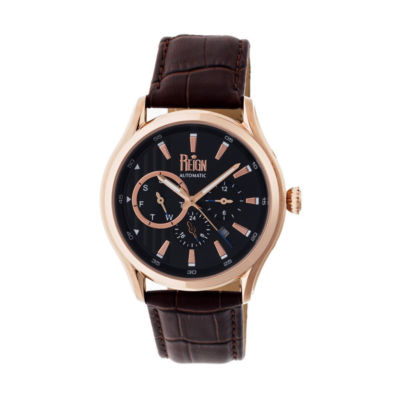 Reign Unisex Brown Strap Watch-Reirn1506