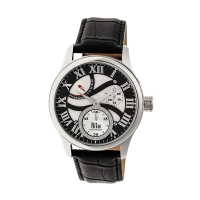 Reign Unisex Black Strap Watch-Reirn1602