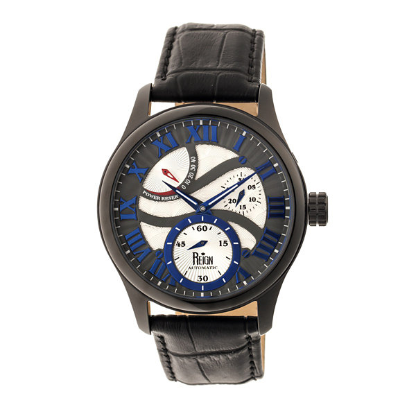 Reign Unisex Black Strap Watch-Reirn1603