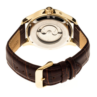 Reign Unisex Brown Strap Watch-Reirn1605