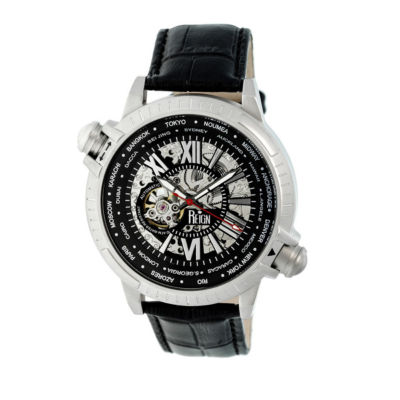 Reign Unisex Black Strap Watch-Reirn2101