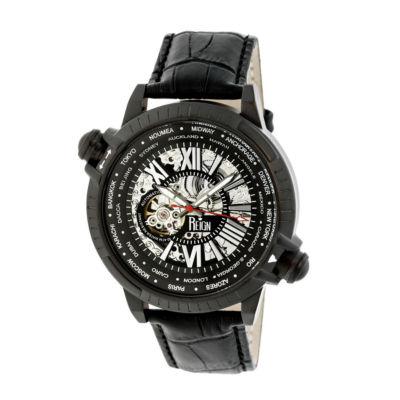 Reign Unisex Black Strap Watch-Reirn2102