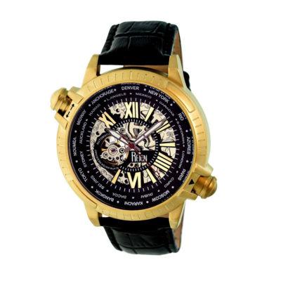 Reign Unisex Black Strap Watch-Reirn2105