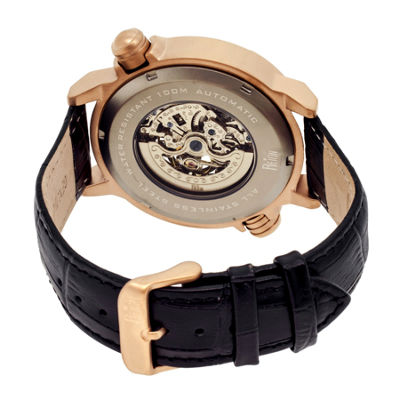 Reign Unisex Black Strap Watch-Reirn2107