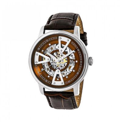 Reign Unisex Brown Strap Watch-Reirn3602