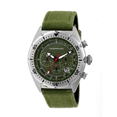 Morphic Unisex Green Bracelet Watch-Mph5302