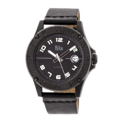 Reign Unisex Black Strap Watch-Reirn5003