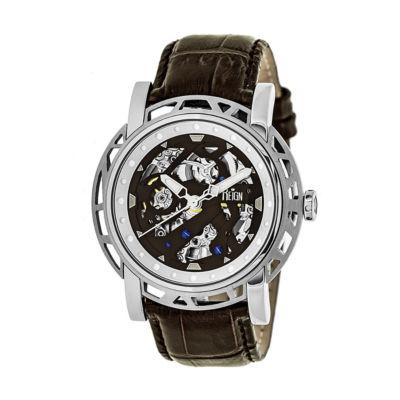 Reign Unisex Brown Strap Watch-Reirn3701