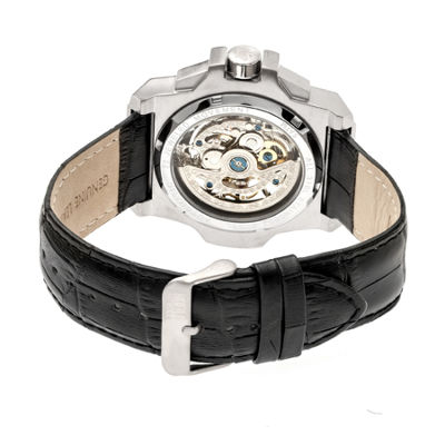 Reign Unisex Black Strap Watch-Reirn4002