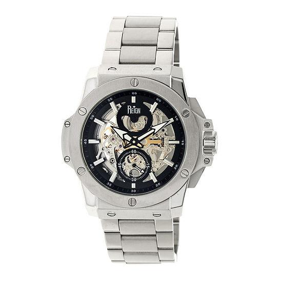 Reign Unisex Silver Tone Bracelet Watch Reirn4007