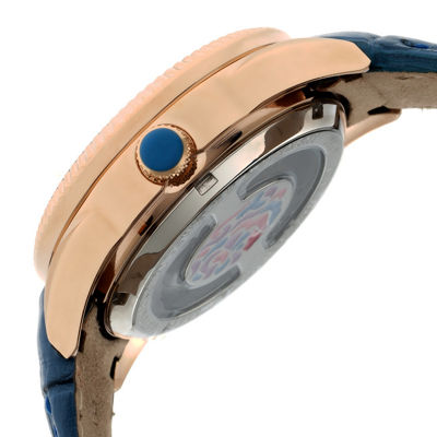Empress Unisex Blue Strap Watch-Empem1806