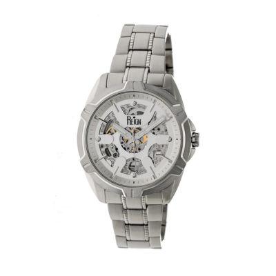 Reign Unisex Silver Tone Bracelet Watch-Reirn4201