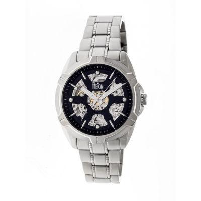 Reign Unisex Silver Tone Bracelet Watch-Reirn4202