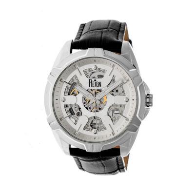 Reign Unisex Black Strap Watch-Reirn4203