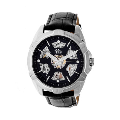 Reign Unisex Black Strap Watch-Reirn4204