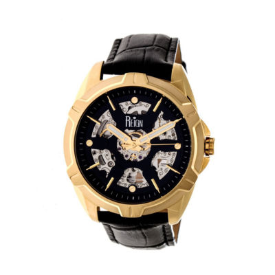 Reign Unisex Black Strap Watch-Reirn4205