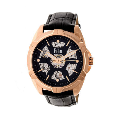 Reign Unisex Black Strap Watch-Reirn4206