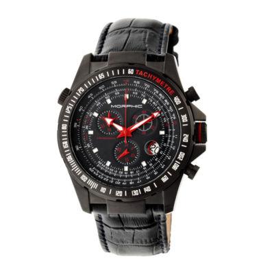 Morphic Unisex Black Bracelet Watch-Mph3605
